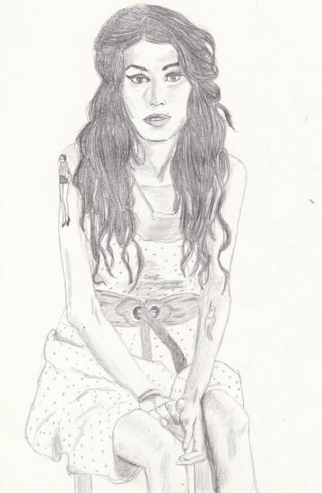 Amy Winehouse por flomaya
